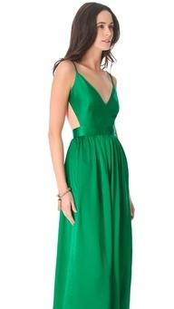 2013 Pantone Color | Emerald - Bridesmaid dress #emerald #pantone #coloroftheyear #bridesmaid #dresses #bridalwear