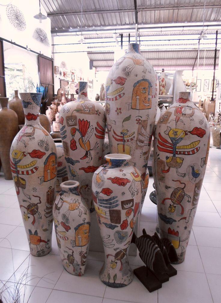Keramik Pak Timbul, Kasongan Yogyakarta