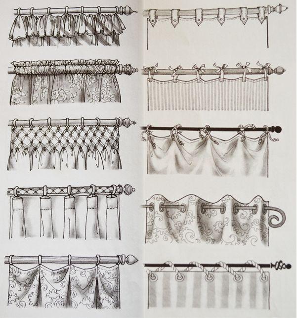 Distintos Modelos de Cortinas
