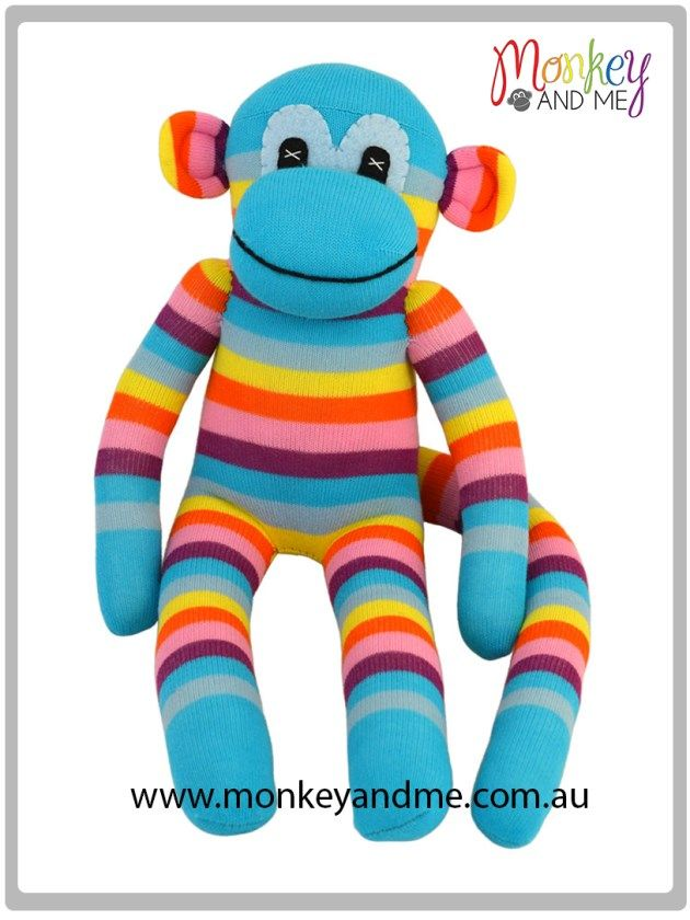 Archie the Sock Monkey  Adopt over at http://monkeyandme.com.au #sockmonkeys #gifts #toys