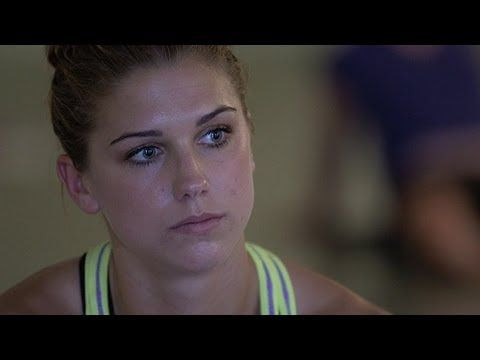 If you're not sweating, you're not working hard enough. LOVE IT!!!!  (Alex Morgan Yoga Session)
