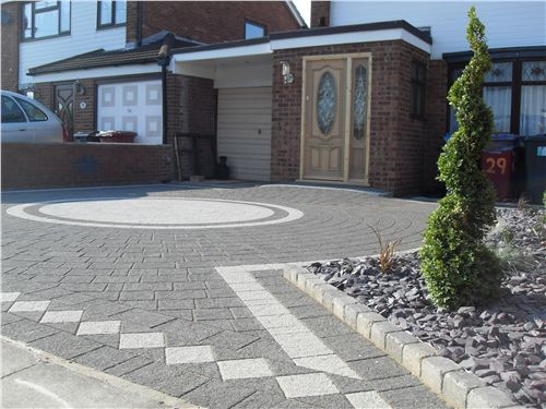 Top 50 Ideas About Paved Driveways On Pinterest
