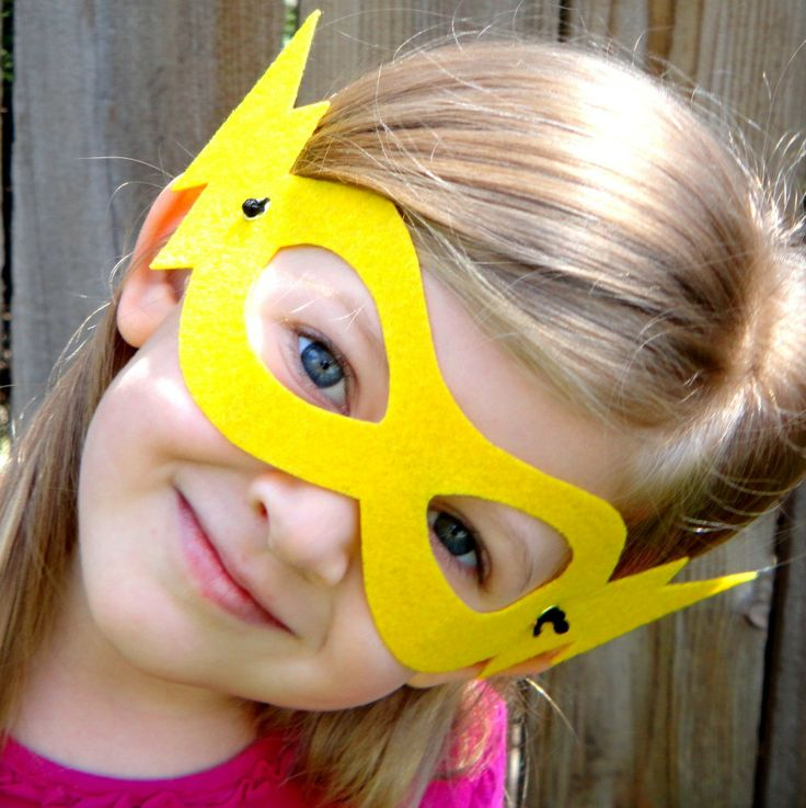 NEW Basic Childrens Super hero mask now in 8 colors. $4.50, via Etsy.