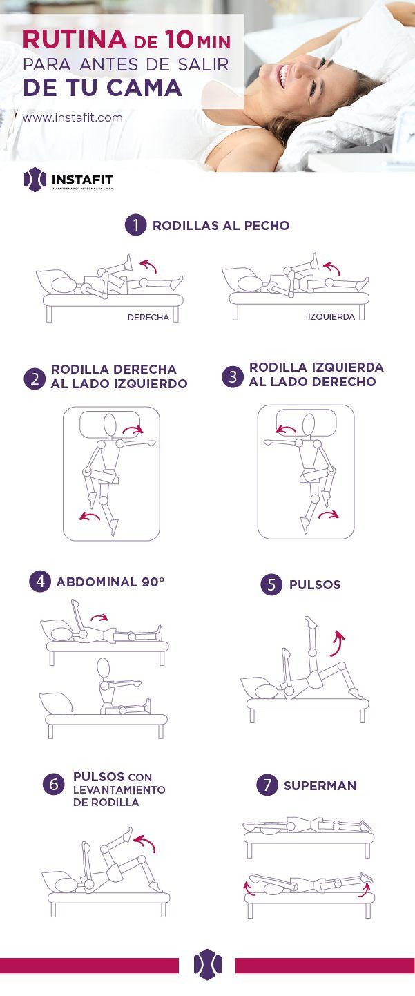 Mira esta rutina para hacer desde tu cama.