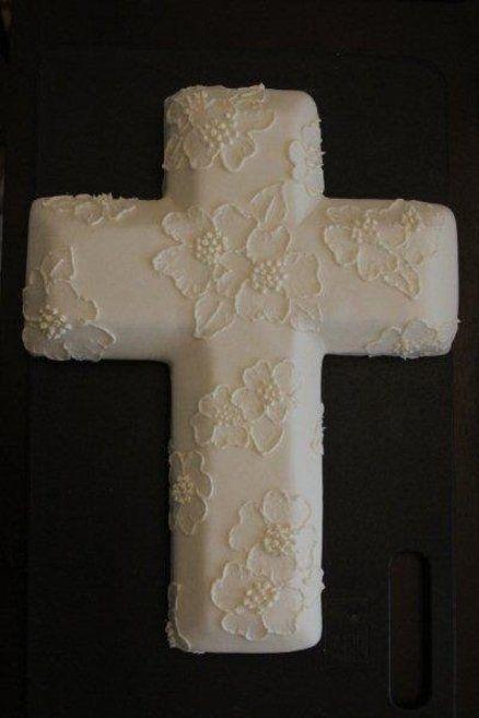 Cross Shaped Cake Ideas