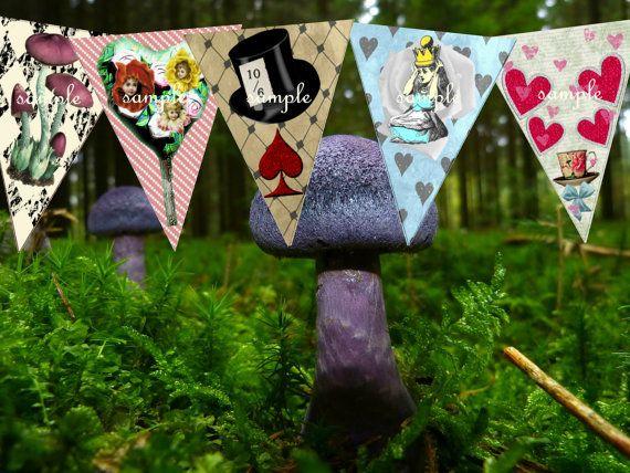 Best 25 alice in wonderland watch ideas on pinterest - Alice in wonderland outdoor decorations ...