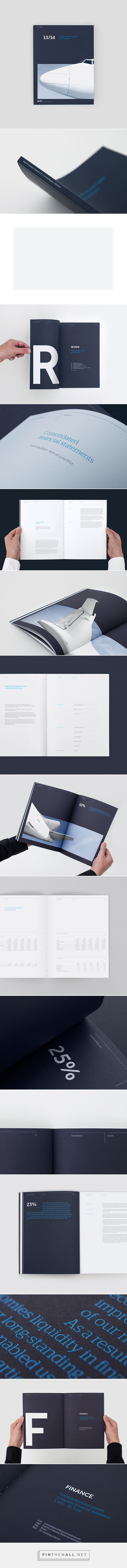 Design pornography clean and simple, pure beauty. NAC - Annual Report on Behance もっと見る