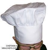 CHEFSKIN Chef Hat Mushroom Kids White Velcro Closure Adjustable NEW by CHEFSKIN. $3.99. BEAUTIFUL KIDS MUSHROOM TOQUE HAT WHITE NEW IN BAG WITH VELCRO CLOSURE ON BACK ONE SIZE FITS MOST, WE SHIP FAST. BUY 1 OR 100. Save 60% Off!