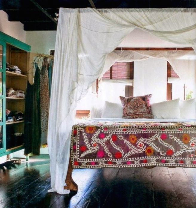 Bohemian Bedroom Canopy 117 best bed hangings images on pinterest | 3/4 beds, bedroom