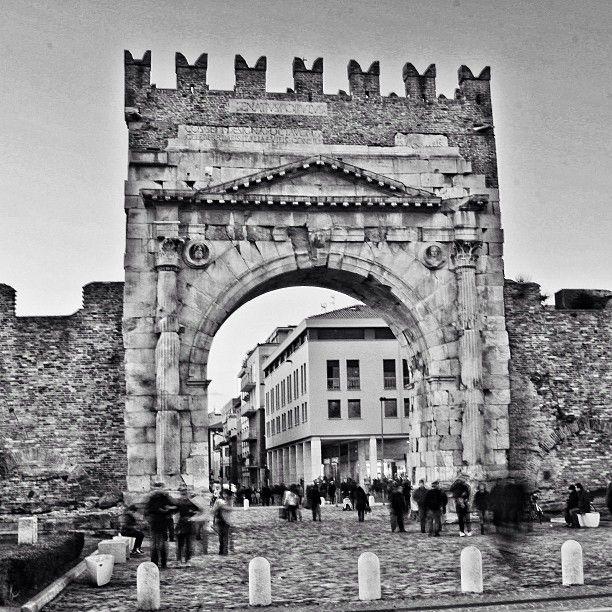 Arco di Augusto, Rimini - Roman Arch