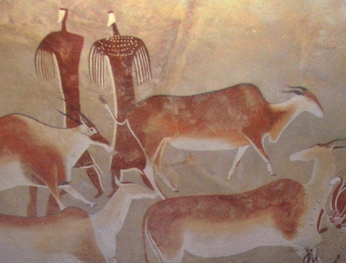 an analysis of the paleolithic art and cave paintings Lascaux cave is a rock shelter in the dordogne valley of france with fabulous cave paintings, dated to between 15,000 and 17,000 years ago upper paleolithic art lascaux cave search the site go.