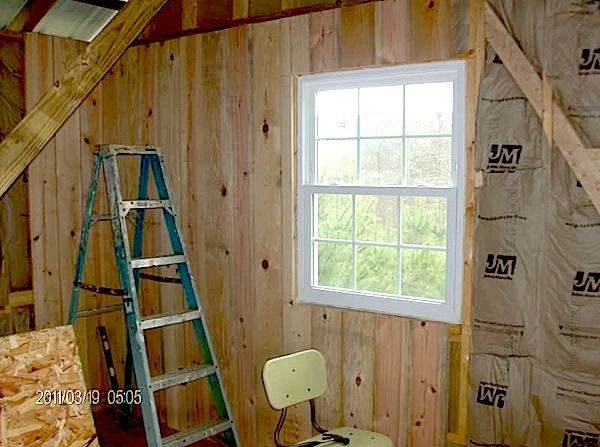 1x6 Pine For Interior Walls Of Tiny Cabin How To Build A