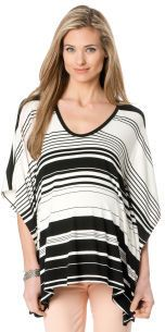 A Pea in the Pod BCBGMAXAZRIA Elbow Sleeve Scoop Neck Batwing Maternity T Shirt on shopstyle.com