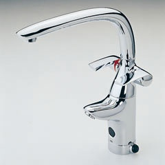 Oras Ventura, kitchen faucet with touchless function and control levers for hot and cold water, with dishwasher valve (8025)