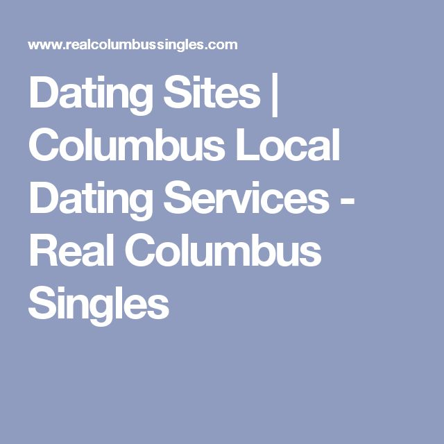 columbus dating services