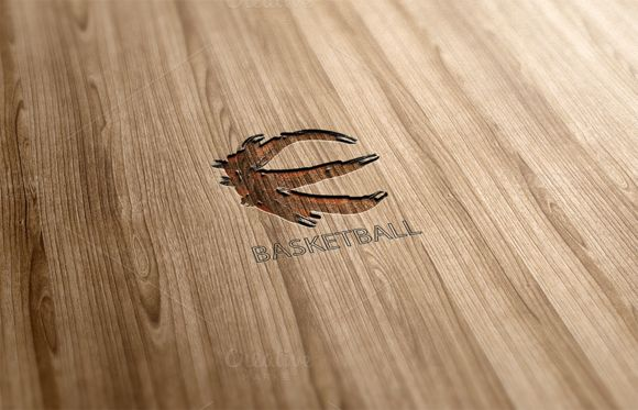 Check out Basketball Logo Design by Florin Chitic on Creative Market