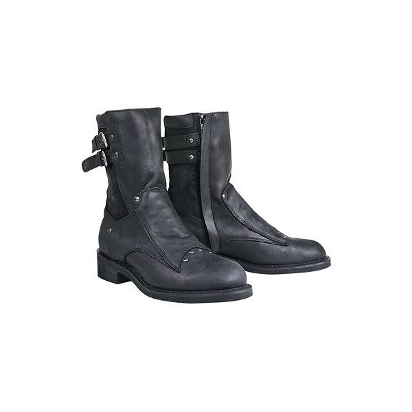 Xelement LU1573 'Assassin' Men's Black Motorcycle Boots -... ❤ liked on Polyvore featuring men's fashion, men's shoes, men's boots, mens black motorcycle boots, mens engineer boots, mens black biker boots, mens motorcycle boots and mens black shoes