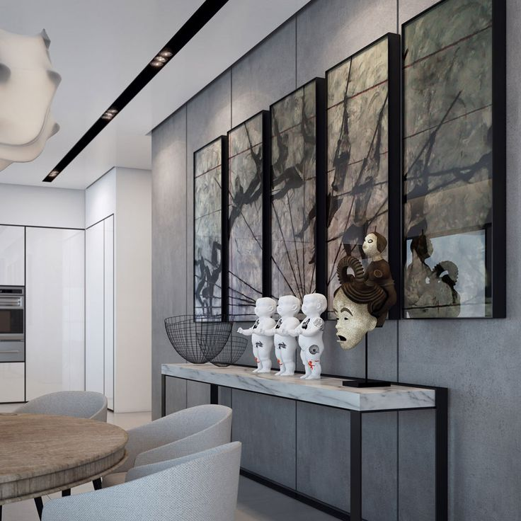 An Apartment Interior Design In The W Boutique Tower By Ando Studio Dining Room FurnitureFurniture