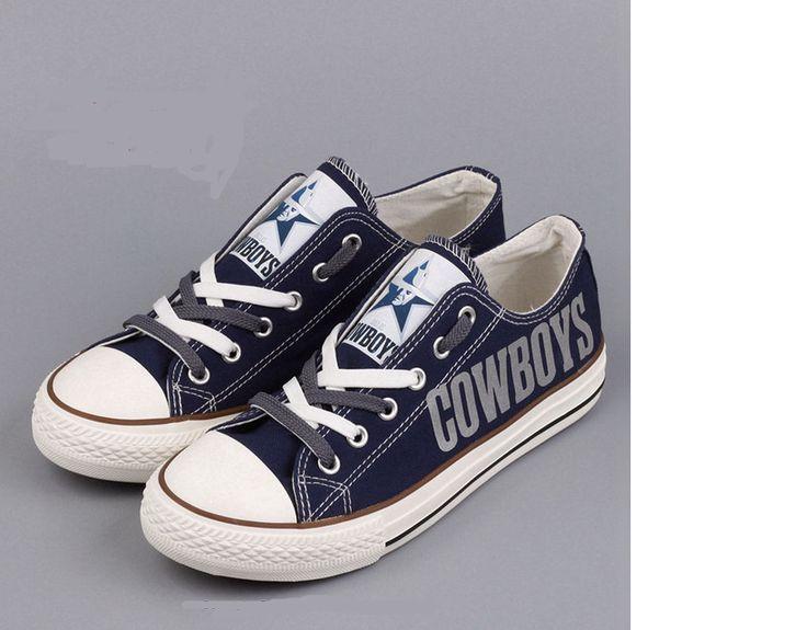 Dallas Cowboys NFL Canvas Shoes
