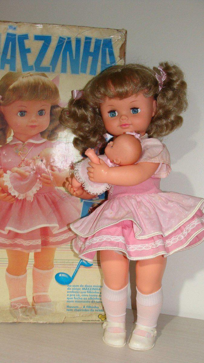 Boneca Antiga Mãezinha Estrela 90`s Na Caixa Func. - R$ 580,00 no MercadoLivre