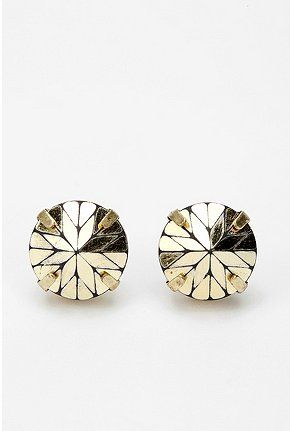 urban outfitters prismatic post earrings $16: Prismatic Posts, Urban Outfitters, Studs Earrings, Jewelry, Accessories, Art Deco, Posts Earrings, Gold Earrings, Gold Studs