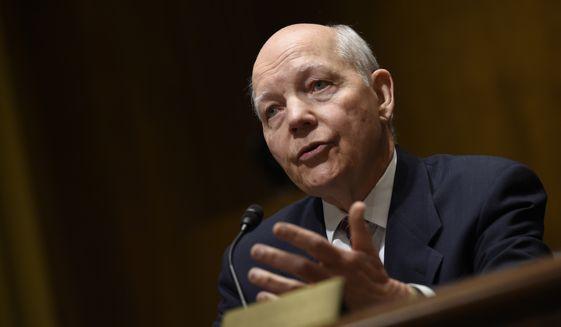 IRS Commissioner John Koskinen (Associated Press) **FILE** IRS ignoring 60% of taxpayer phone calls.