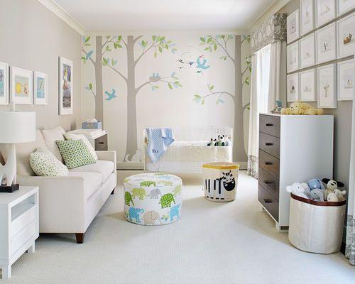 Jungle theme Nursery Baby and Kids' Design Ideas & Photos | Houzz #afflink
