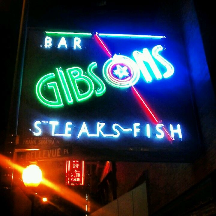 Gibsons Bar & Steakhouse. Pretty famous, you've probably heard of it or seen it in movies.
