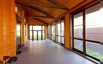 Проект деревянного дома из клееного бруса Скандинавия Виктория, площадь 344 м2, 2 этажа, 4 спальни, фото 3