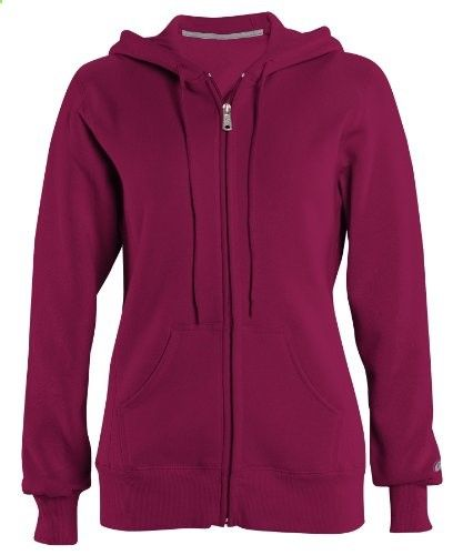 Russell Athletic Women's Pro-Cotton Fleece Full Zip Hoodie - DJB - S - www.immmb.com/...