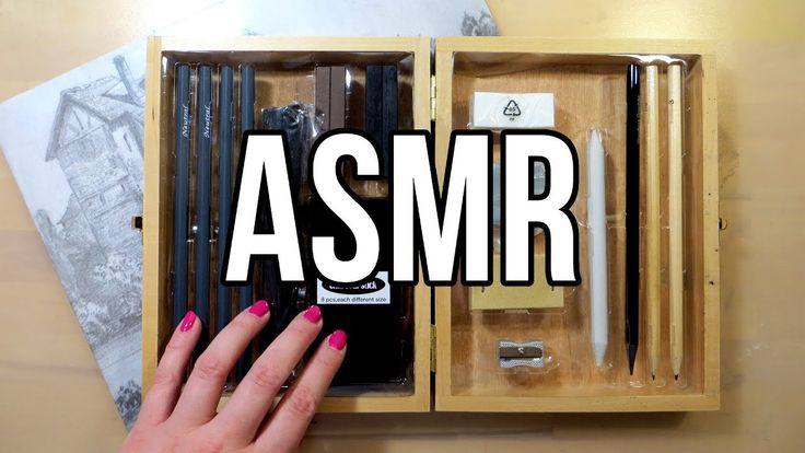 ASMR Unboxing Art Supplies || Charcoal Drawing Set || No Talking