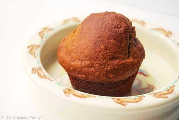 Clean Eating Surprise Muffins ~ http://www.thegraciouspantry.com