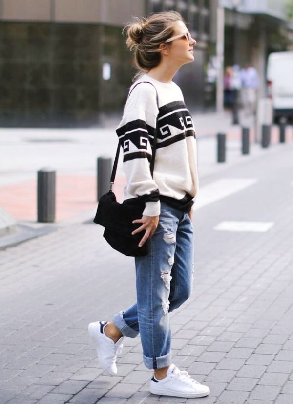 93998dd753f 40 Off to Work Oversized Sweater Outfits