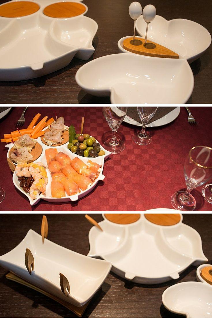 Con le antipastiere Brandani è una festa in tavola! Un raffinato MadeinItaly in una combinazione di bianca porcellana ed elementi di bamboo. Il nostro racconto su www.dhomenica.it  - @brandanishop