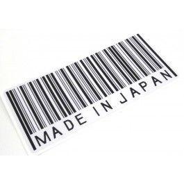 Made In Japan Barcode Sticker