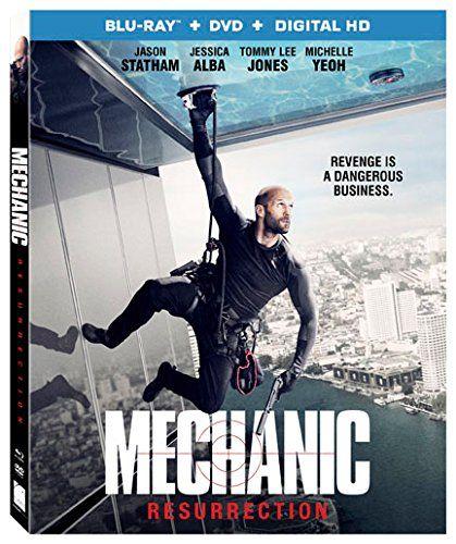 Mechanic Resurrection [Blu-ray + DVD + Digital HD]