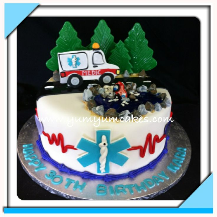 Ems Themed Wedding Cake