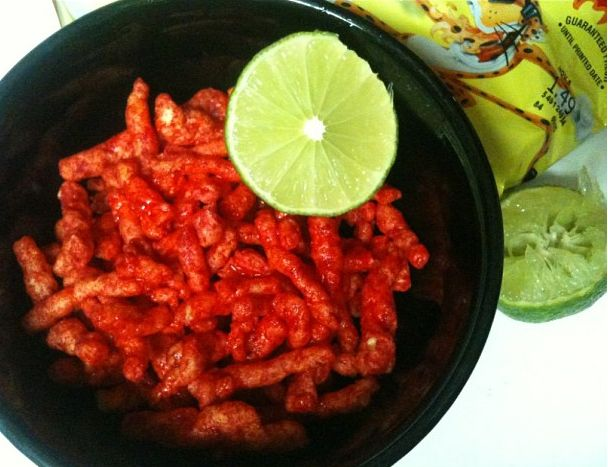 You basically squeeze lime onto everything and anything, especially Hot Cheetos.   23 Food Truths Only Mexicans Would Understand