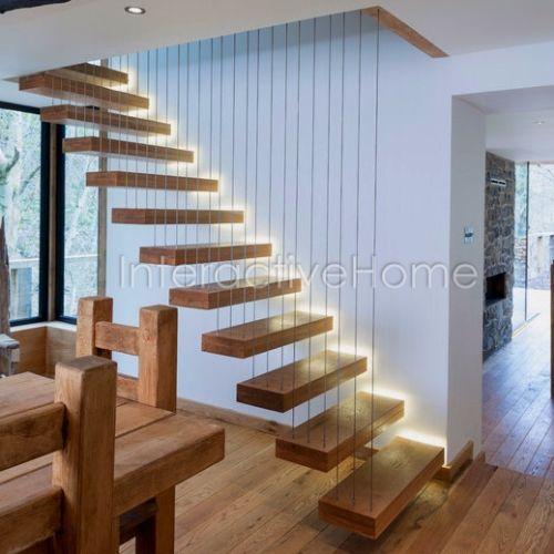 Автоматическая подсветка ступеней лестницы
