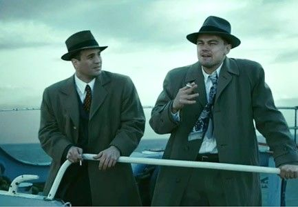 Leonardo DiCaprio & Mark Ruffalo- Shutter Island. Maybe the best movie I have ever seen!