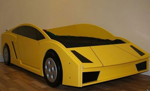 Junior Lamborghini Style Car Bed This Would Be Easier To