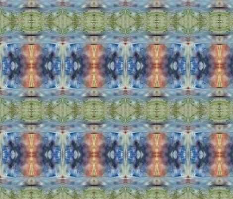 encaustic field with dawn scy fabric by vinkeli on Spoonflower - custom fabric