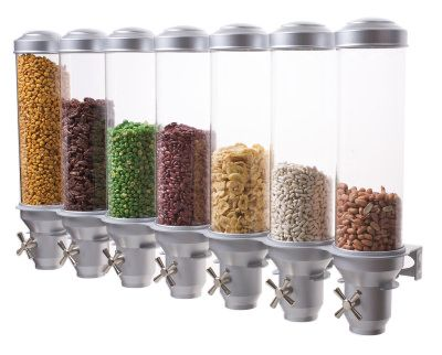 H70 Wall Mounted Natural Food Dispenser - IDM Dispensers | Candy dispensers | Ceral dispensers | Beverage dispensers | Coffee dispensers