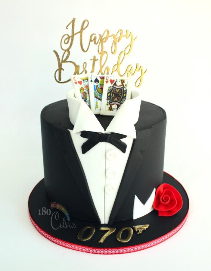 Tux Cake by Joonie Tan