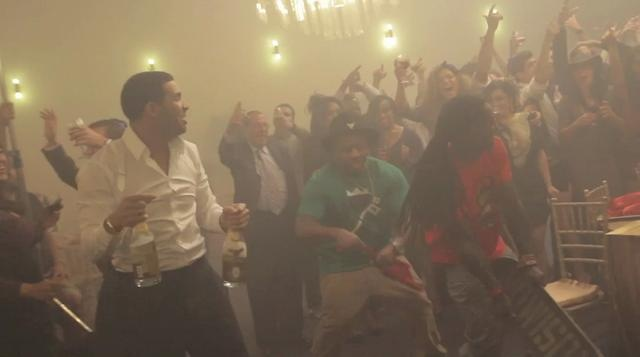 Drake ft Lil' Wayne - HYFR    The first part of a Drizzy double. In the video for HYFR Drake invites us to his bar mitzvah. Check out the cameos from  Birdman, DJ Khaled, Mack Maine, and Trey Songz and more.    The video was directed by Little X