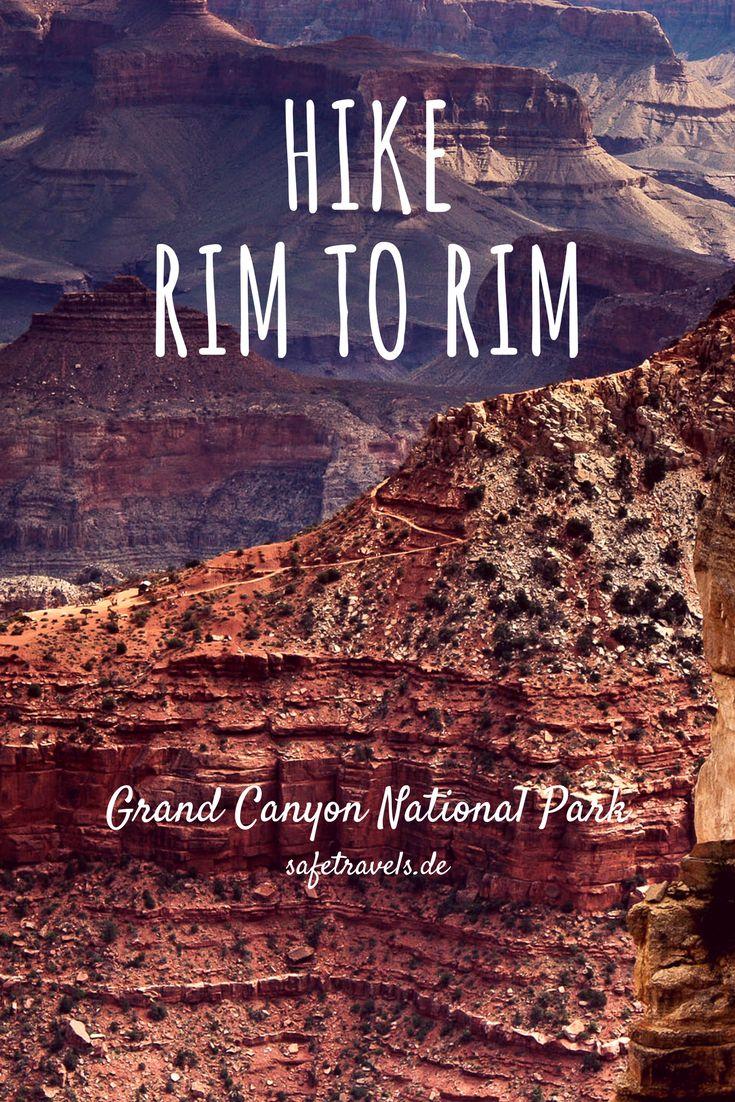 Der Bericht zum Hike: Rim to Rim am Grand Canyon. In 4 Tagen vom North Rim zum South Rim.