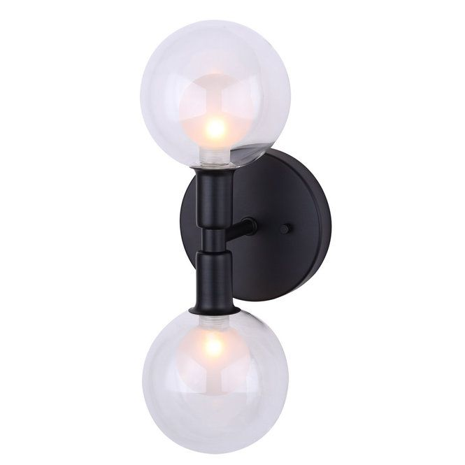 Duo Globe Sconce Globe Sconce Wall Lights Wall Sconces