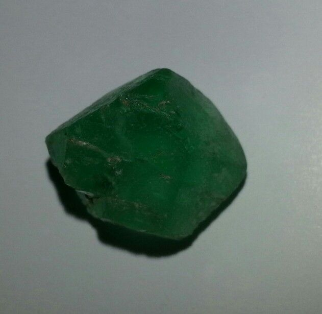 Green fluorite - fluorescent under UV light