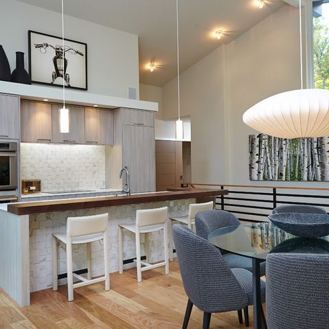 Interior Design By Rock Kauffman Design I Architecture By Chad Gould LLC I  Kitchen Design By Tru Kitchens I New Urban Home Builders I As Featured In  Grand ...
