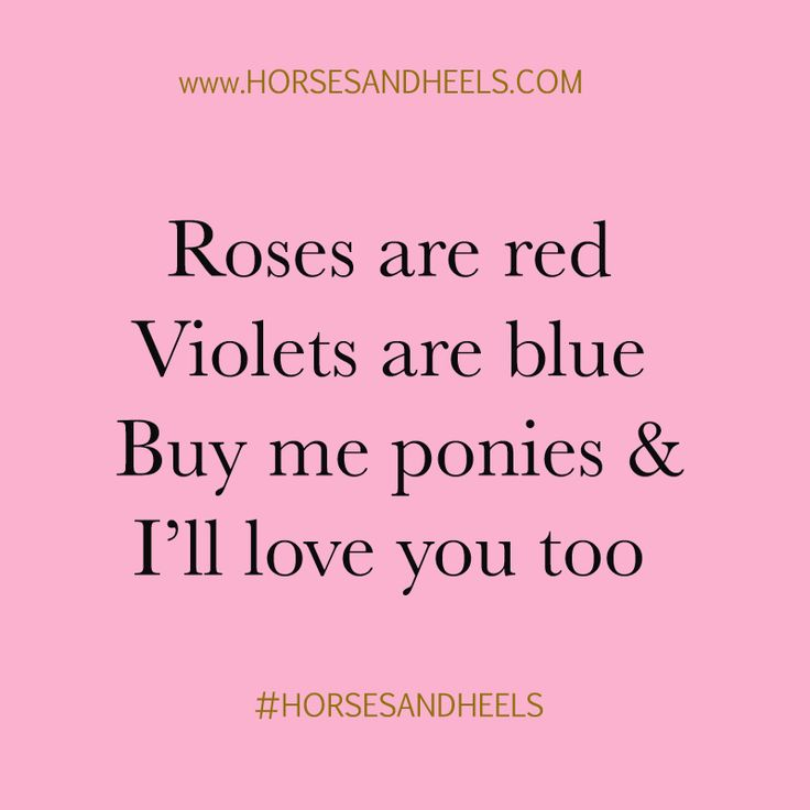 Horses are the way to a girl's heart.